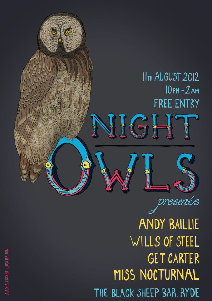 Miss Nocturnal Night Owl